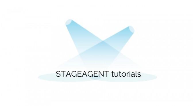 StageAgent Tutorials