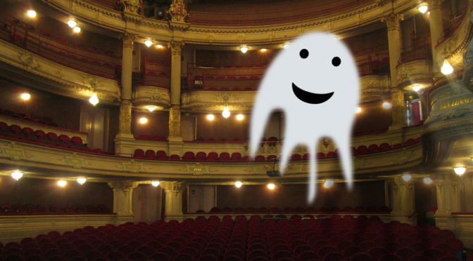 Ghost in theatre
