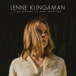 The cover of Lenne Klingaman's brand-new album, THE HEART IS THE HUNTER