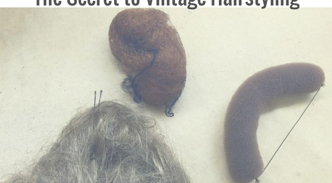The Secret to Vintage Hairstyling