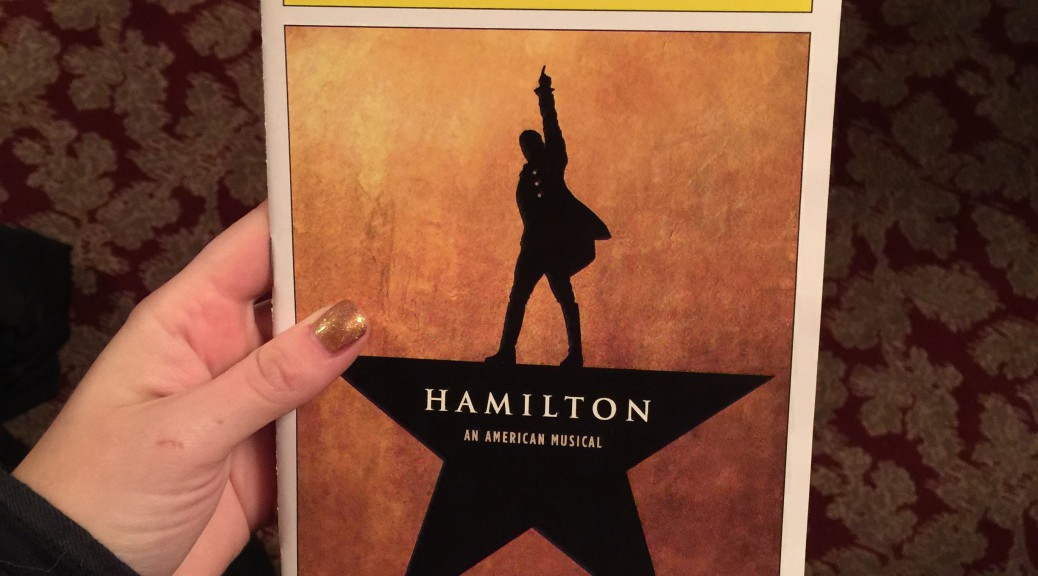 Instagramming photos of the Hamilton program is now a form of social currency.