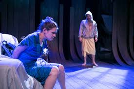 Brianna Letourneau and Scott Ward Abernethy in The Magic Tree at Keegan Theatre.
