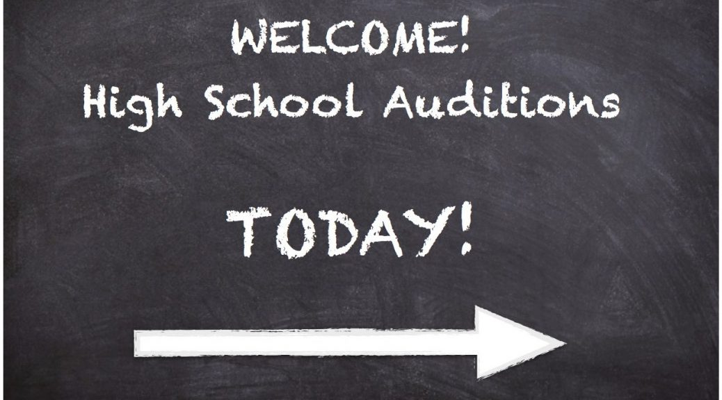 audition blackboard
