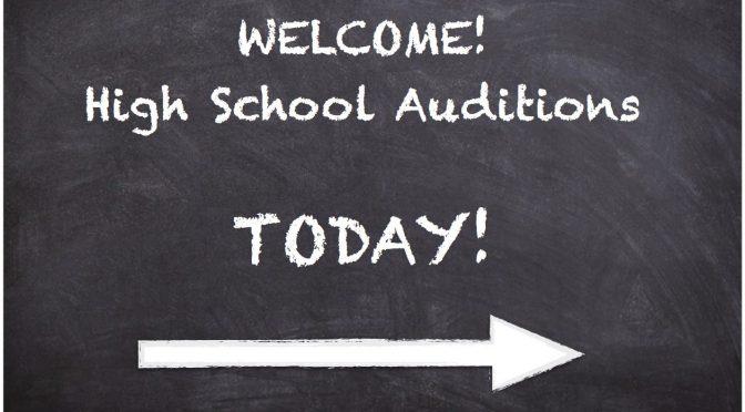 audition blackboard