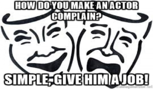 actor complain