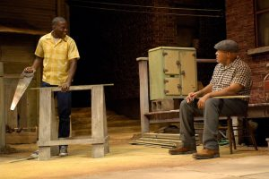 The Huntington Theatre Company's production of Fences. Photo Credit: Eric Antoniou via Creative Commons License 2.0