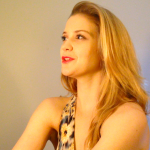 Actor and StageAgent writer Becca Ballenger, in a recent video audition.