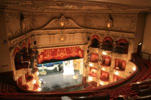 View from an Upper Circle (aka Balcony). Photo Credit: Mikehume at English Wikipedia