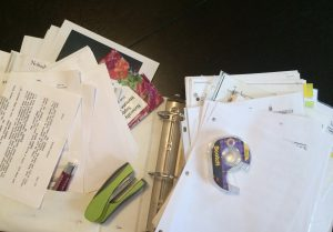 messy binder