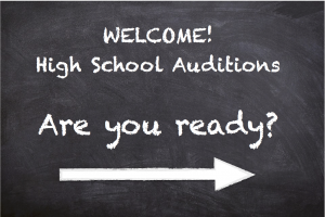 Audition Blackboard - Are you ready?
