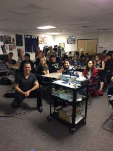 Foothill High School drama students
