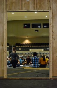Rehearsal for Taming of the Shrew